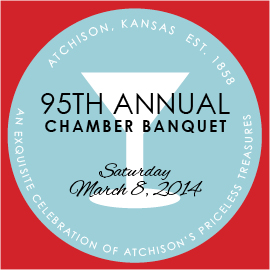 95th Annual Chamber Banquet @ Atchison Heritage Conference Center | Atchison | Kansas | United States