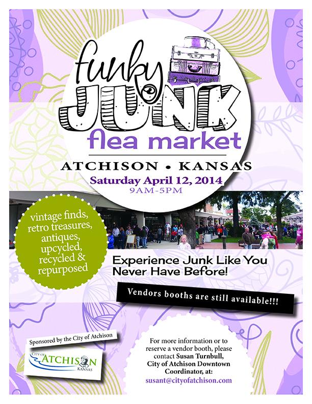 Funky Junk Flea Market @ Downtown Atchison