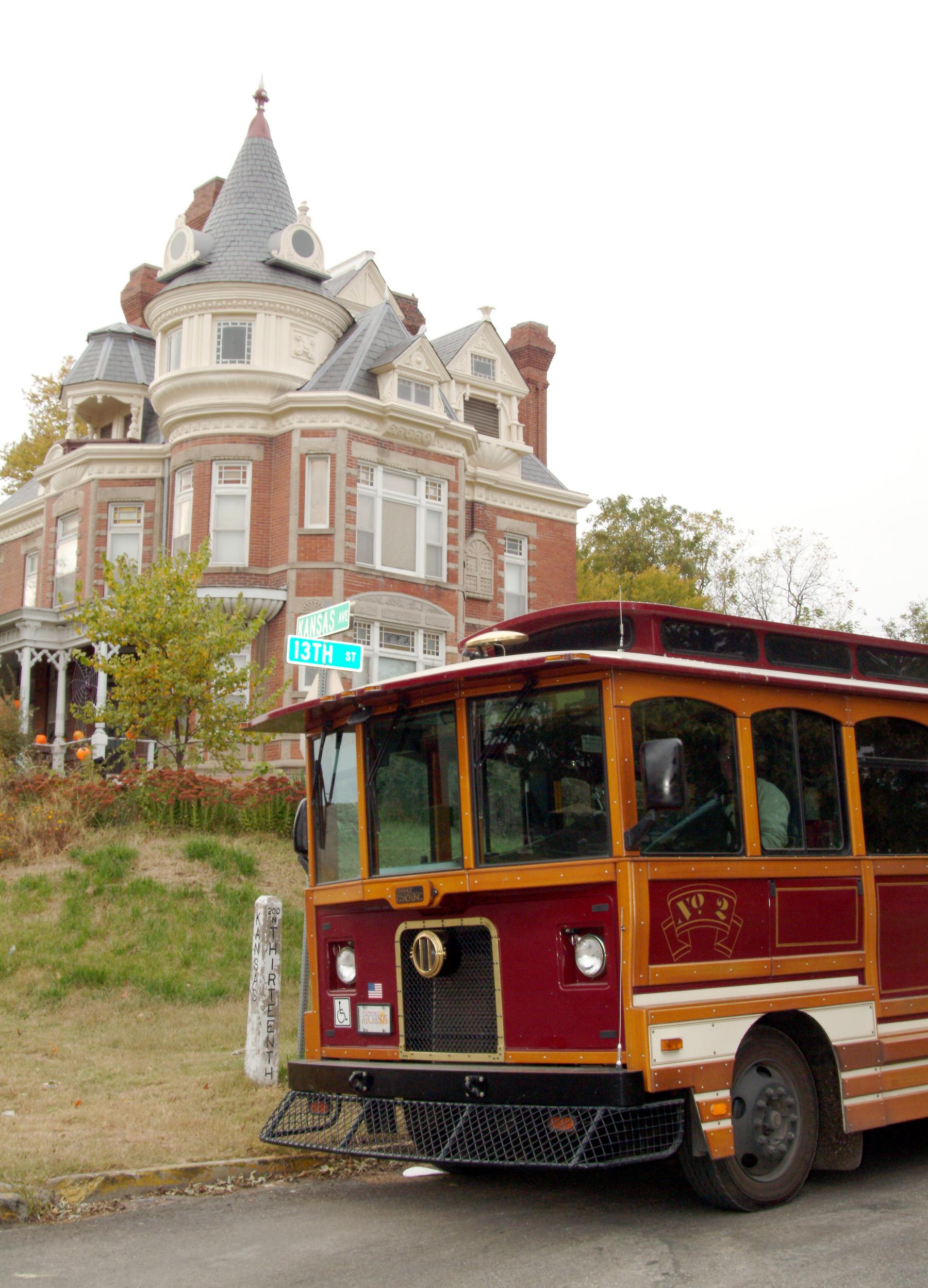 Historic Atchison Trolley Tours @ Santa Fe Depot | Atchison | Kansas | United States